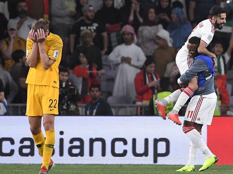 Asian Cup UAE vs Australia 20190125