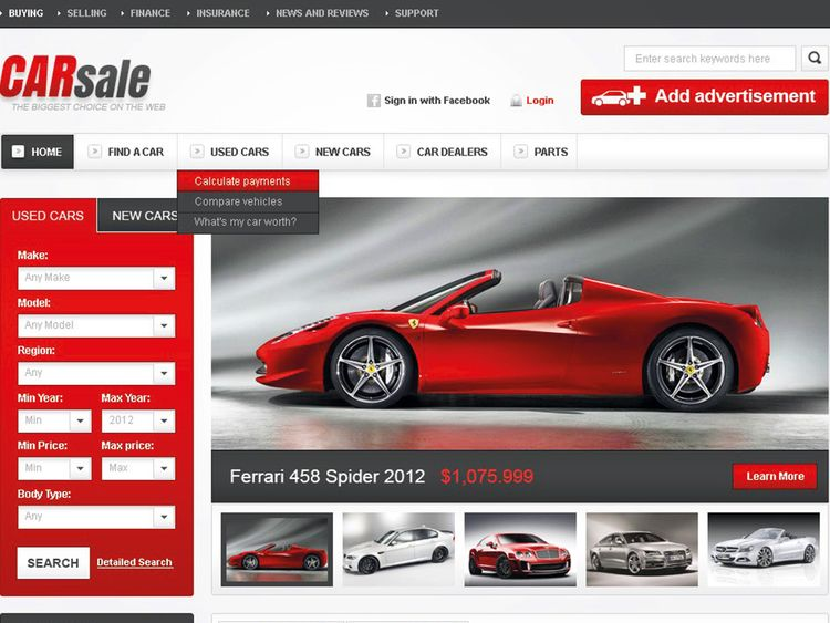 Car buying in UAE slowly moving online