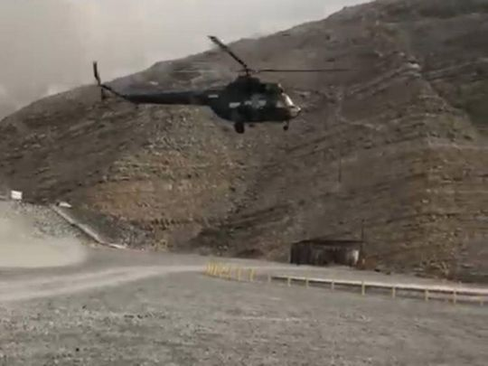 Chopper Jebel Jais 20190125