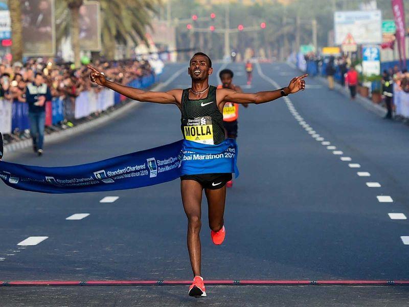 Getaneh Tamire Molla Dubai Marathon