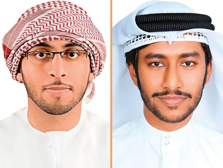 Mohammad Al Muraiki and Ahmad Mohammad Al Ali.