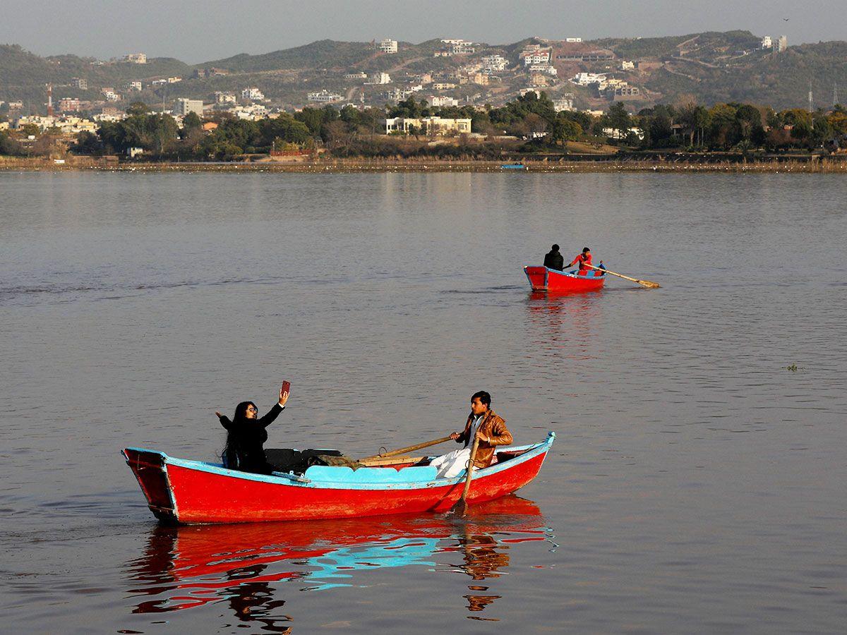 Rawal Lake in Islamabad