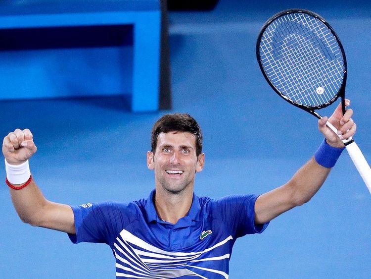 Serbia's Novak Djokovic 9
