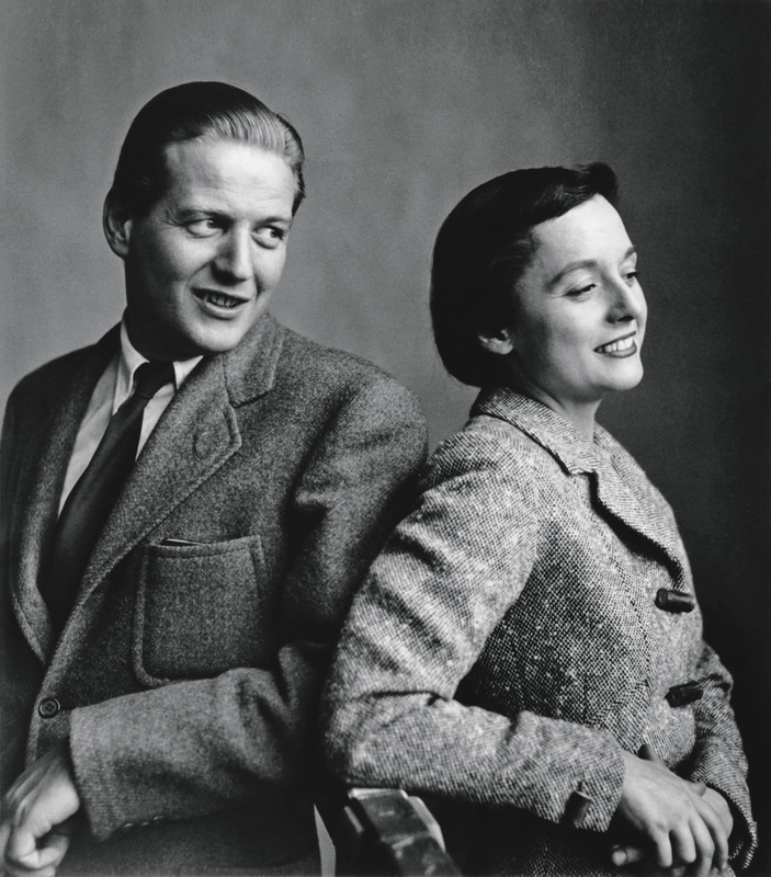 Hans and Florence Knoll around_1945