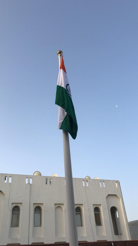 Indian flag hoisted at Consulate 01