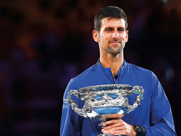190127 Novak Djokovic