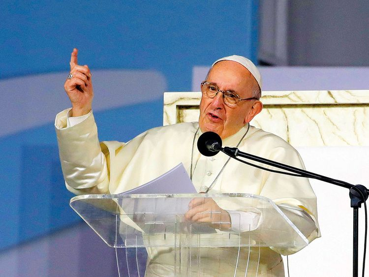 190127 pope francis 2