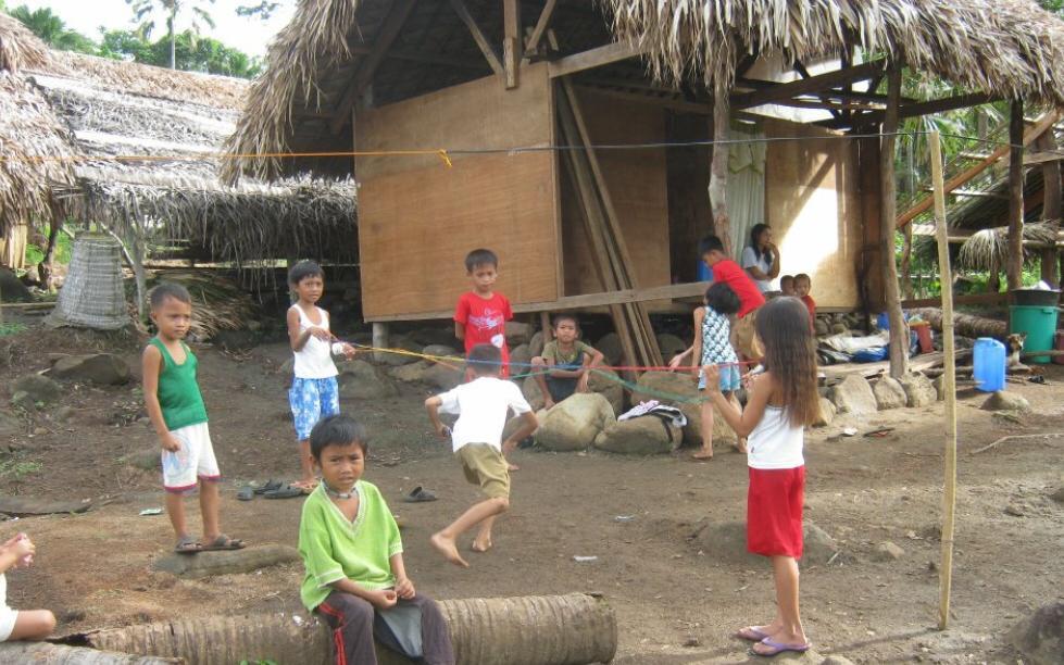 Children in Bicol Philippines