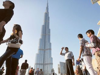 dubai tourists