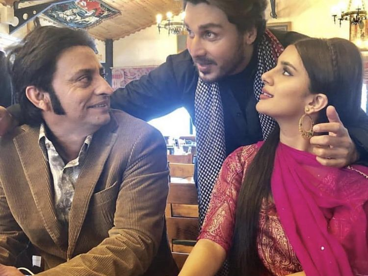 (From-Left)-Saleem-Mairaj,-Ahsan-Khan-and-Kubra-Khan-at-the-shoot-of-ALIF-in-Istanbul-1548656766733