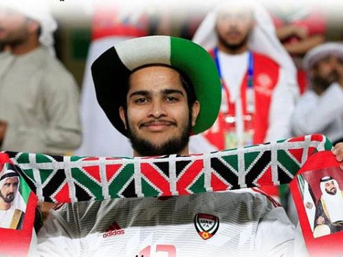 Abu Dhabi Police football fan