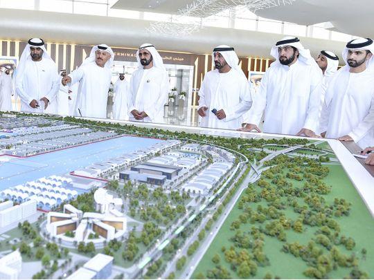 His Highness Shaikh Mohammad Bin Rashid