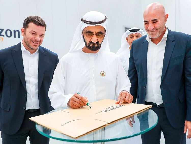 Mohammad Bin Rashid Visits Souq Hq Retail Gulf News