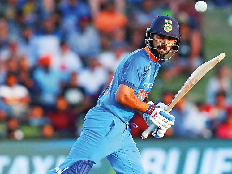 Indian captain Virat Kohli extended his purple run