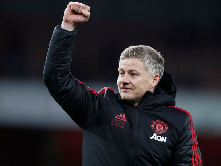 Manchester United interim manager Ole Gunnar Solskjaer