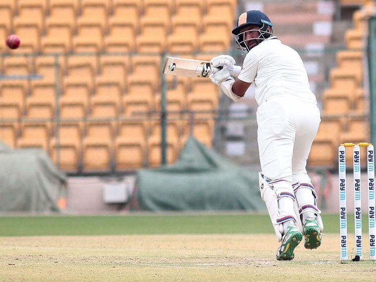 Saurashtra batsman Cheteshwar Pujara
