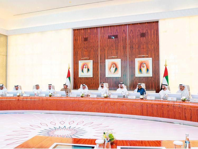 UAE Cabinet meeting January 27