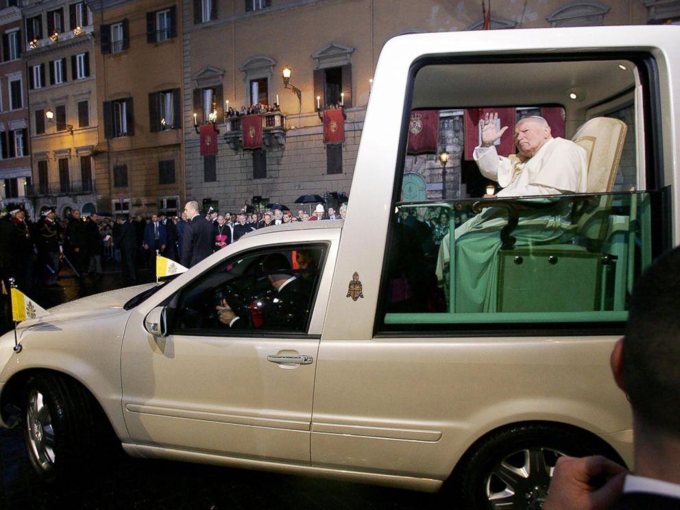 John Paul II popemobile
