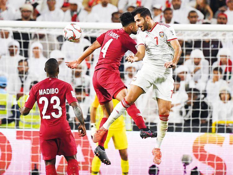 UAE's forward Ali Mabkhout Al Hajeri