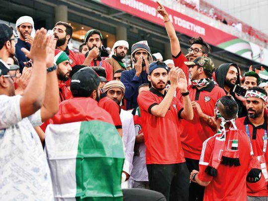 UAE football fans