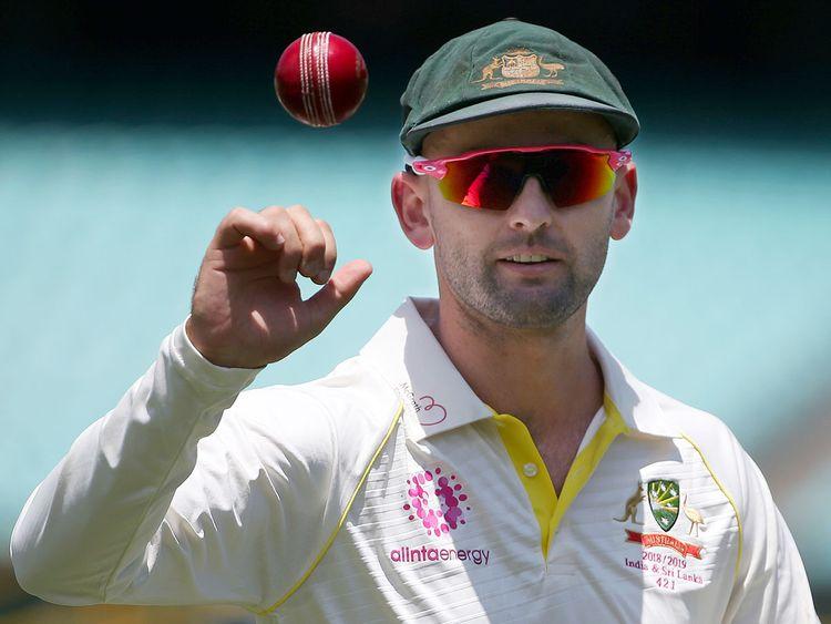 Australia's spinner Nathan Lyon
