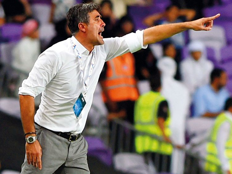 Zoran Mamic, head coach of Al Ain football team