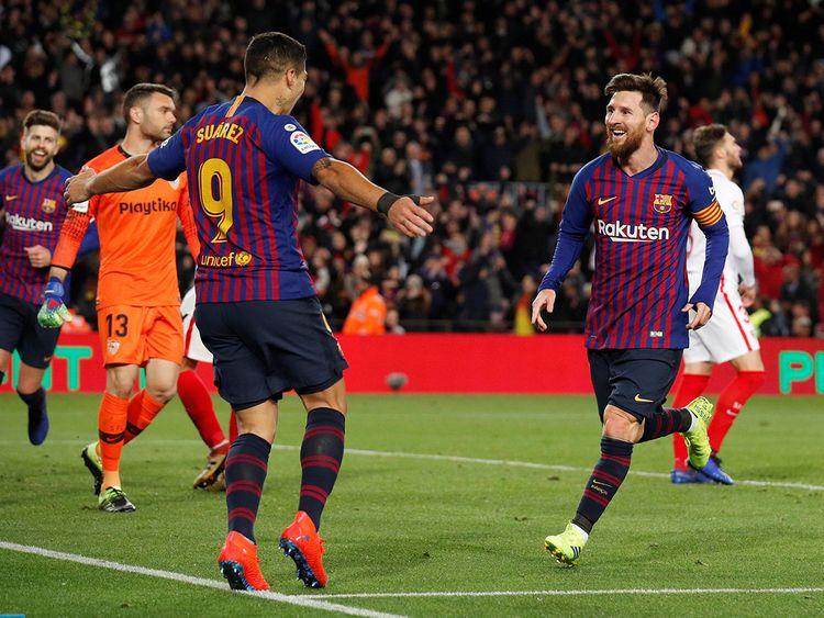 Barca thrash Sevilla to reach Copa del Rey last 4   Football