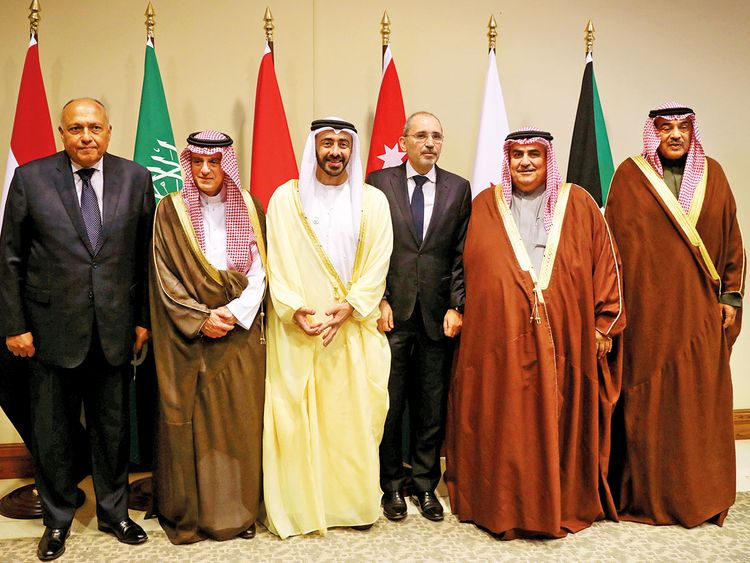 Arab foreign ministers