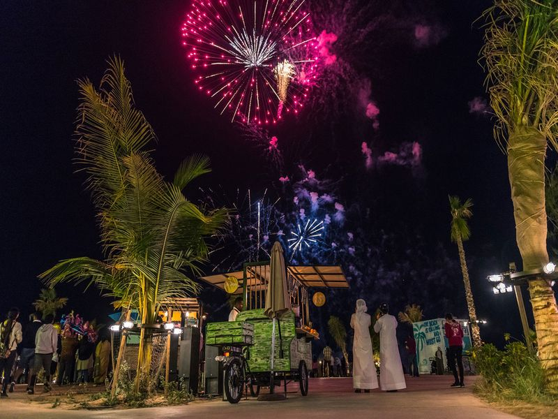 La Mer DSF Fireworks