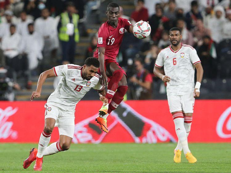 Qatar's forward Almoez Ali