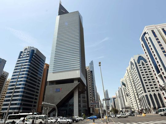 The First Abu Dhabi Bank headquarters in Abu Dhabi (FAB)