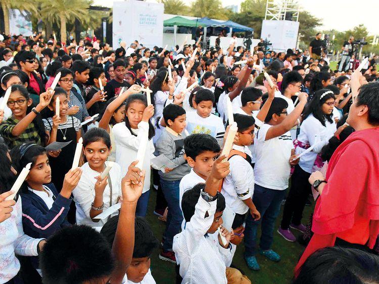 Children with communities