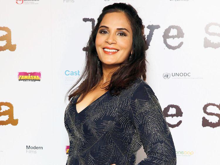 Richa Chadha poses