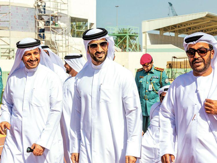 Sultan tours IWAS World Games venue