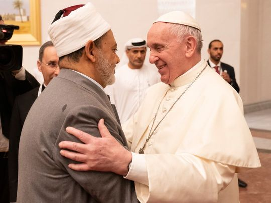 190203 pope and imam