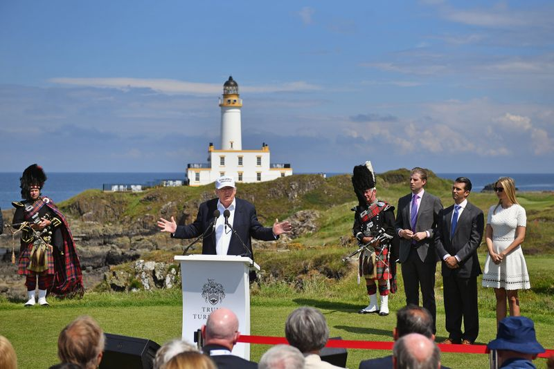 Donald J. Trump at the Turnberry resort in June 2016 _091
