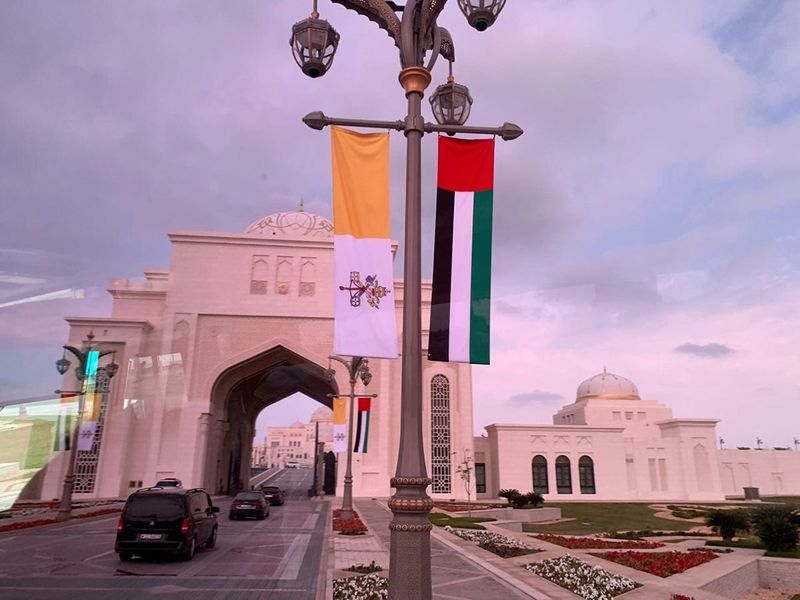 190204 Pope UAE trip