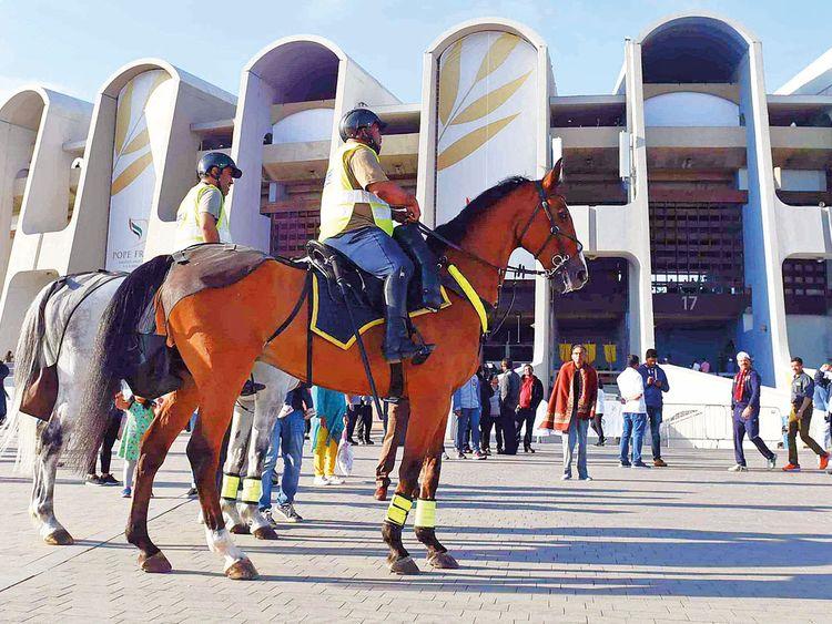 190206 mounted police patrols