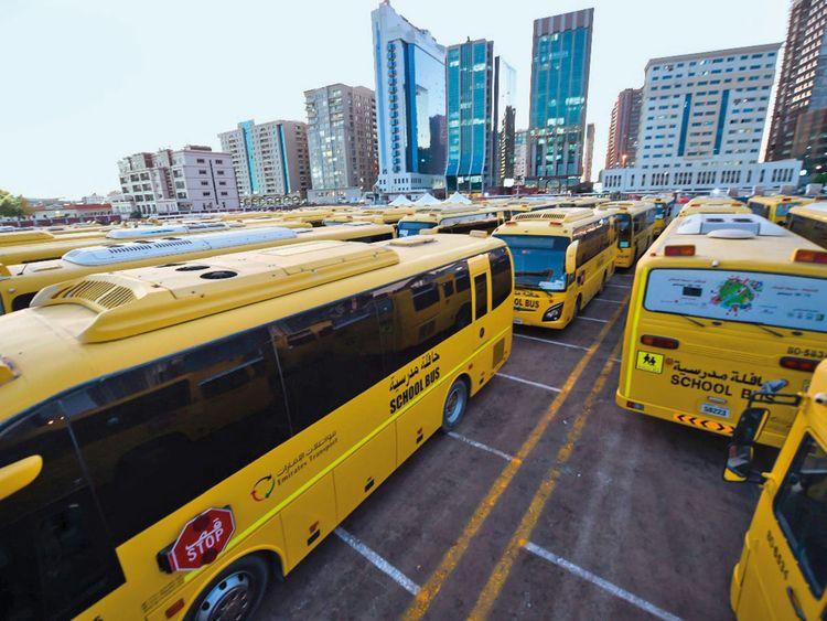 190206 school buses