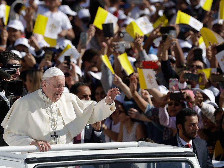 Pope Francis in UAE