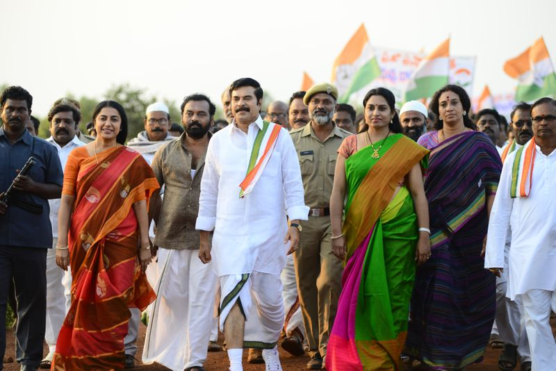 Mammootty sets out on historical journey with 'Yatra
