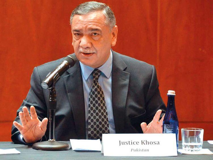 Chief Justice of Pakistan Asif Saeed Khosa