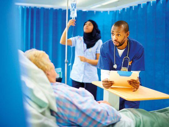 Hospital, healthcare
