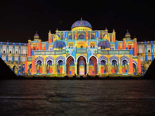 Sharjah Light Festival c