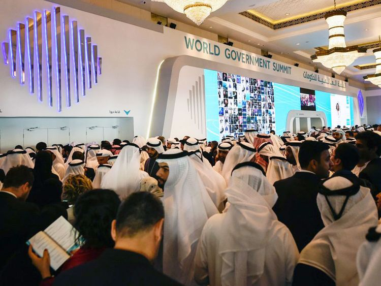 Attendees at the previous edition of the World Government Summit