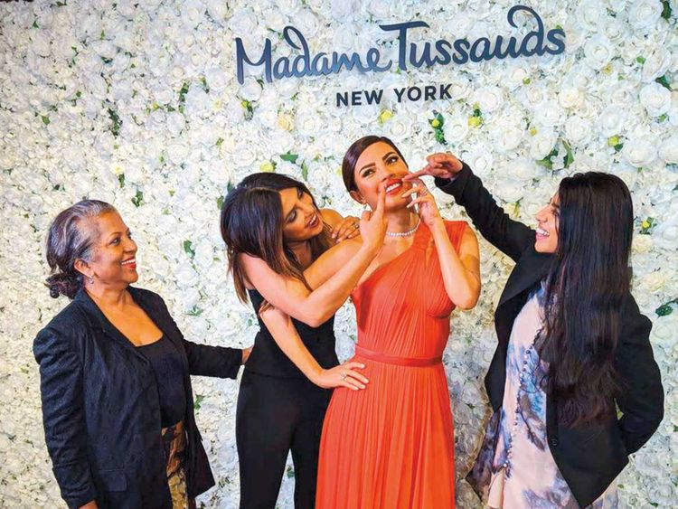 Priyanka Chopra unveils her wax figure in New York