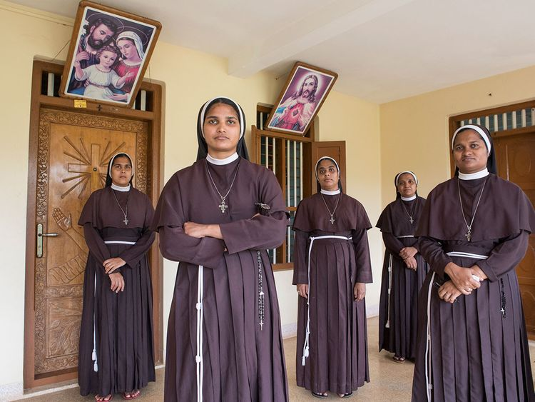 190210 Bishop Franco Mulakkal nuns