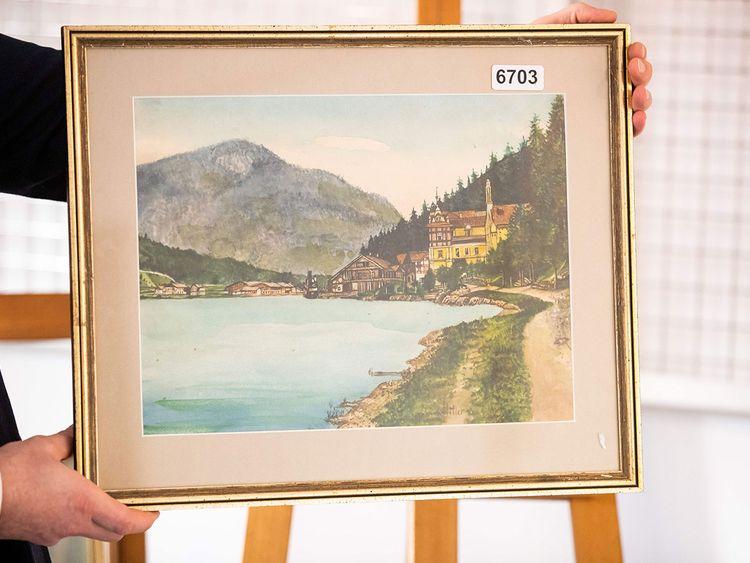 191002 hitler water colour