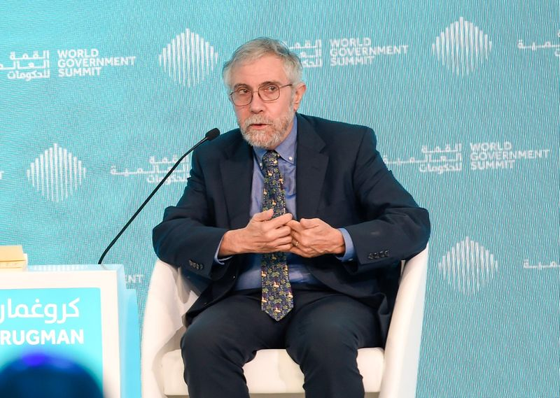 Paul Krugman Economist and Distinguished Professor at the City University of New York's Graduate Center