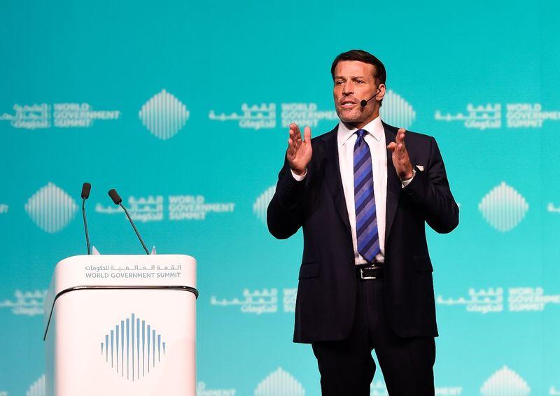 Tony Robbins Leadership Expert